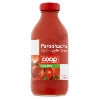 COOP PARADICSOMLÉ 330ML