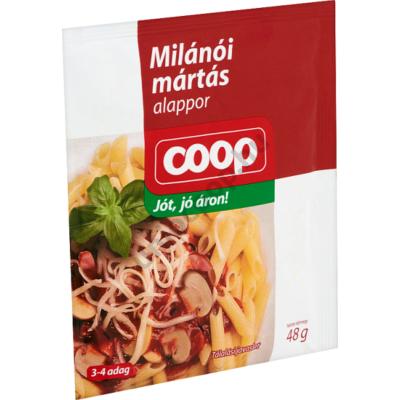 COOP MILÁNÓI MÁRTÁS ALAPPOR 48G