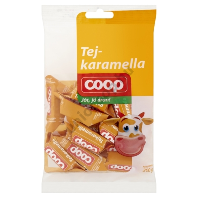 COOP TEJKARAMELLA 200G