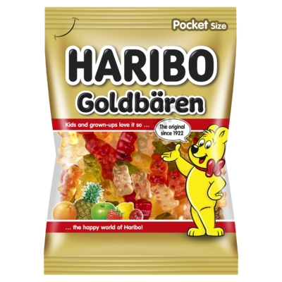 HARIBO GOLDBAREN GUMICUKOR 100G