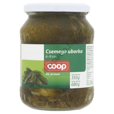 COOP CSEMEGE UBORKA EC.6-9CM 680G/ 350G