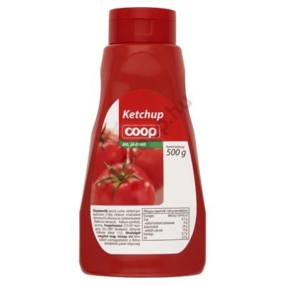 COOP KETCHUP 500G