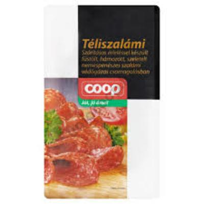 COOP TÉLISZALÁMI SZEL.VG 75G