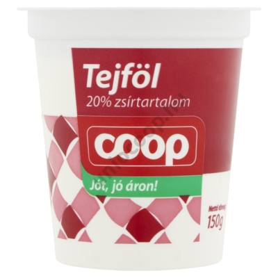 COOP TEJFÖL 20% 150G
