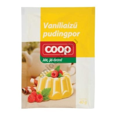 COOP PUDINGPOR VANÍLIAÍZŰ 40G